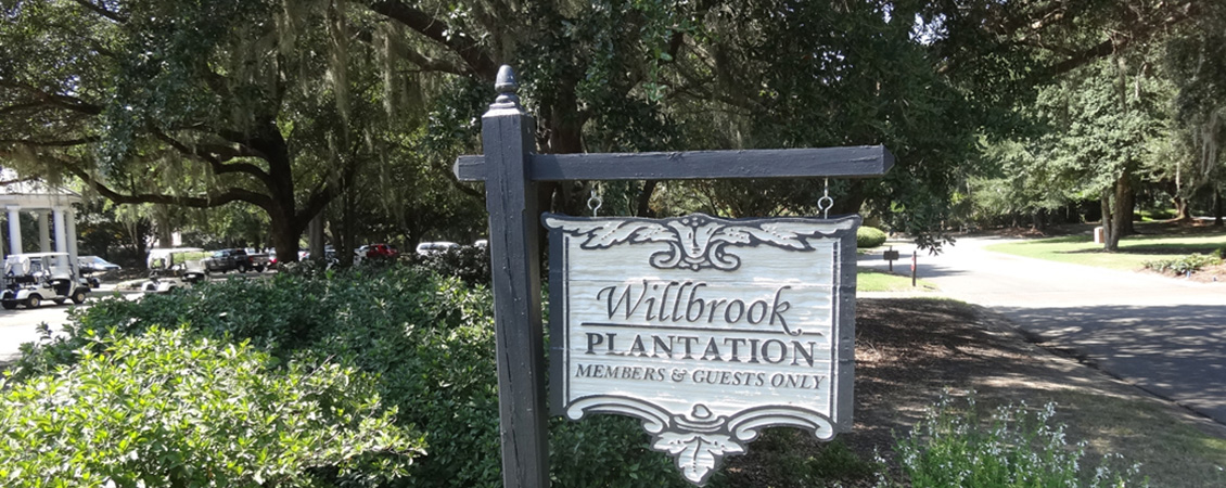 WIllbrook Plantation Sign2